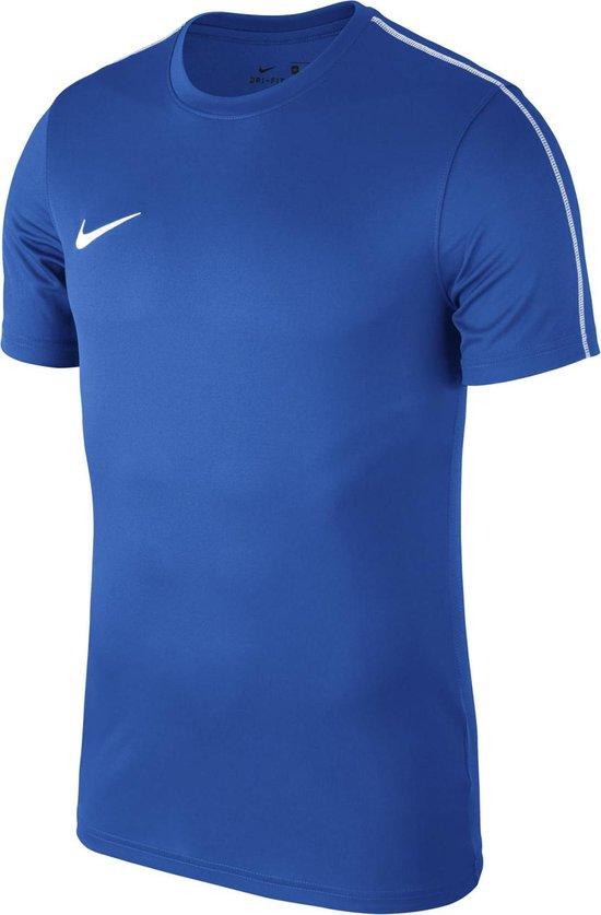 Nike Dry Park 18 Sportshirt Heren - blauw - Nike