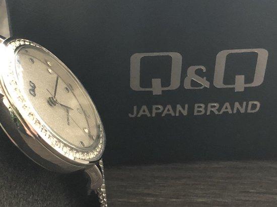 Prachtig Q&Q dames horloge QB45J201