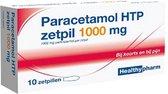 Healthypharm Paracetamol 1000 mg - 10 zetpillen
