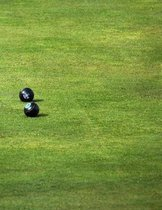 Lawn Bowls Notebook Large Size 8.5 X 11 Ruled 150 Pages Softcover for Home Schoo