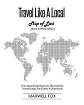 Travel Like a Local - Map of Lasi (Black and White Edition)