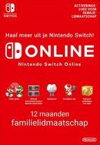 Cover van de game 12 Maanden Online Familie Lidmaatschap - Nintendo Switch
