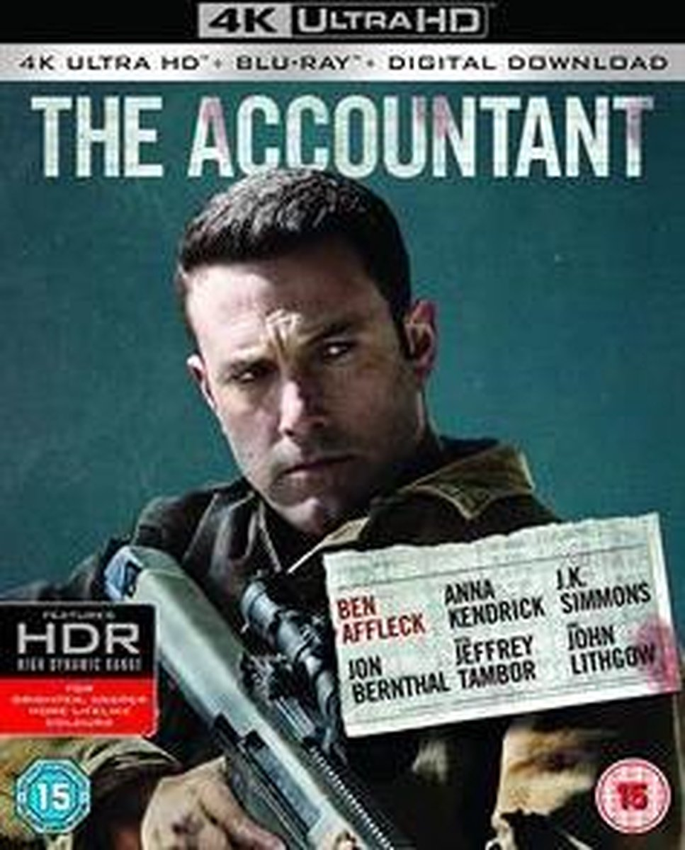 Accountant (4K Ultra HD Blu-ray) (Import)-