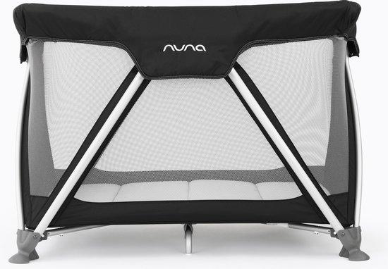 Product: Nuna Sena - Campingbed - Zwart, van het merk Nuna