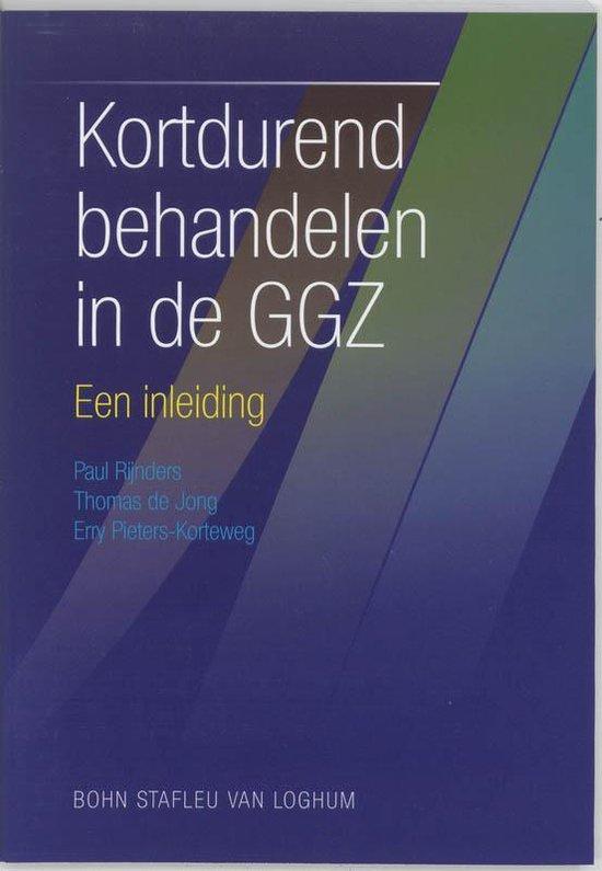 Kortdurend Behandelen In De Ggz - P. Rijnders  