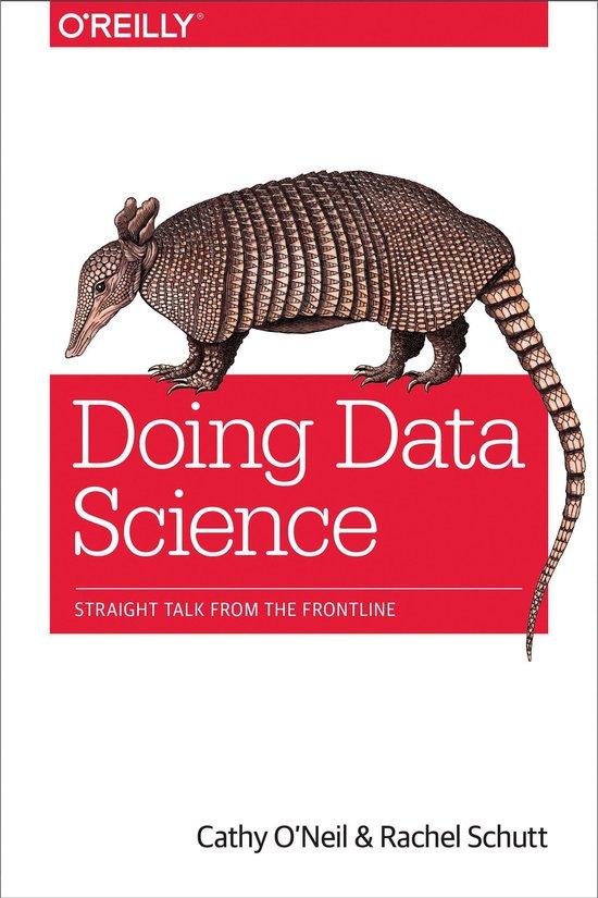 Boek cover Doing Data Science van Cathy ONeil (Onbekend)