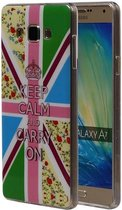 Samsung Galaxy A7 2015 A700F Hoesje Keizerskroon TPU