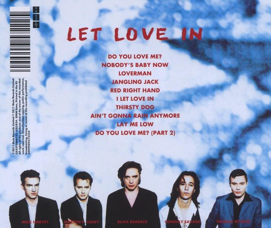 Let Love In (2011 - Remaster) - Nick Cave & The Bad Seeds