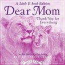 Omslag Dear Mom