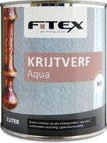 Fitex Krijtverf Aqua 1 liter wit