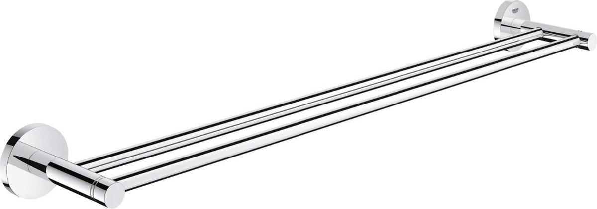 GROHE Essentials Dubbele Handdoekhouder - 60 cm - metaal - chroom - 40802001