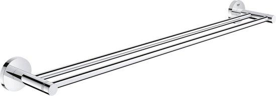 GROHE Essentials dubbele handdoekhouder - 600 mm -  Chroom