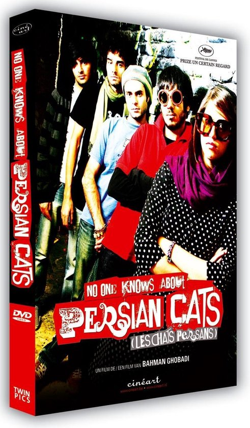 Cover van de film 'No One Knows About Persian Cats'