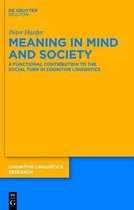 Meaning in Mind and Society
