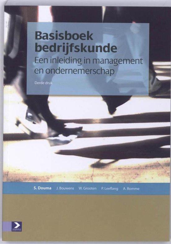 Basisboek bedrijfskunde - S.W. Douma | Fthsonline.com
