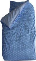 Bink Bedding Little Star Blue - 1 Persoons - 140x200/220 cm