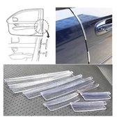 8 Auto Bumper Deur strips beschermers - Stootstrips - Autodeur beschermer - Bescherm je autodeur tegen krassen en stoten - Zwart