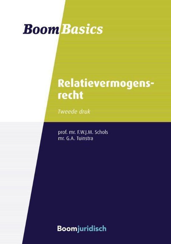 Boom Basics - Boom basics relatievermogensrecht - F.W.J.M. Schols | Readingchampions.org.uk