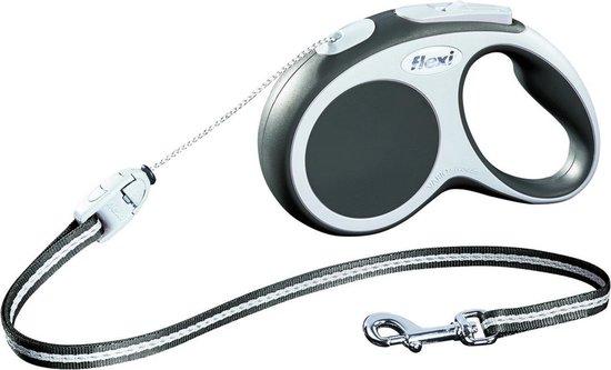 Flexi Vario - Riem - Tape - Antraciet - S - 5 m