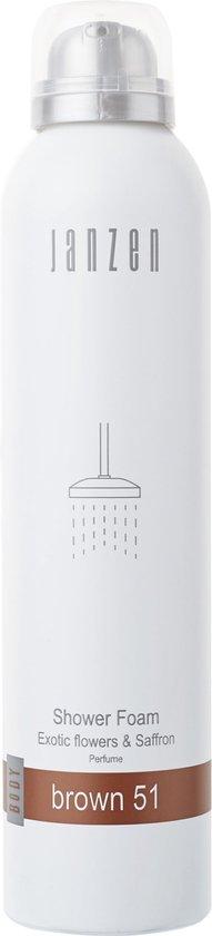 JANZEN Shower Foam Brown 51 - 200 ml - Douchegel