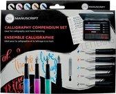 Manuscript Kalligrafie Compendium Vulpennen Set MC150 - geschikt voor handletteren