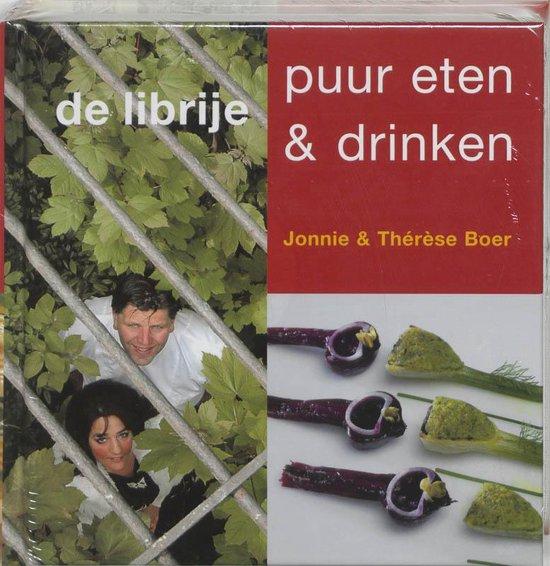 Cover van het boek 'Librije, puur eten & drinken'