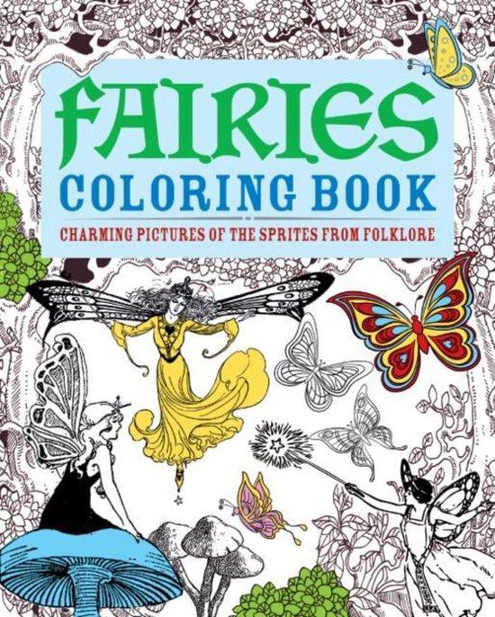 Boek cover Fairies Colouring Book van Else Lennox (Paperback)