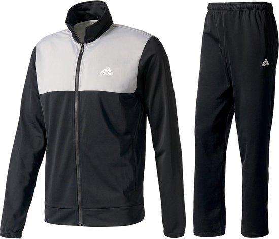 adidas Back 2 Basic Trainingspak - Maat XL - Mannen - zwart/grijs