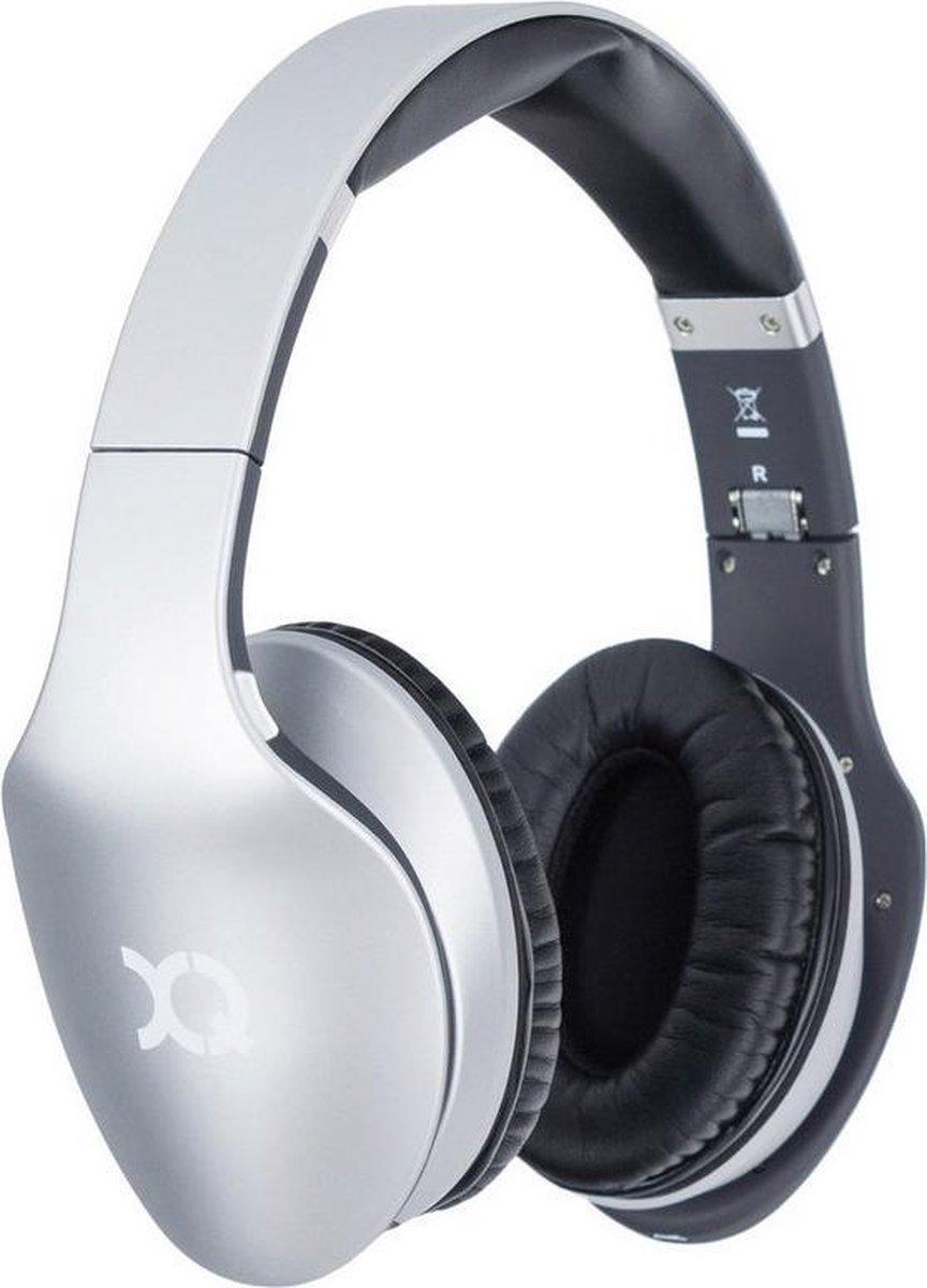 XQISIT LZ380 Stereo Bluetooth Koptelefoon – over-ear – Zilver