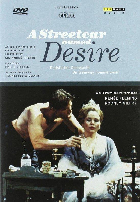 Cover van de film 'André Previn - Streetcar Named Desire'