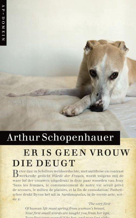Boek cover Er is geen vrouw die deugt van Arthur Schopenhauer (Paperback)