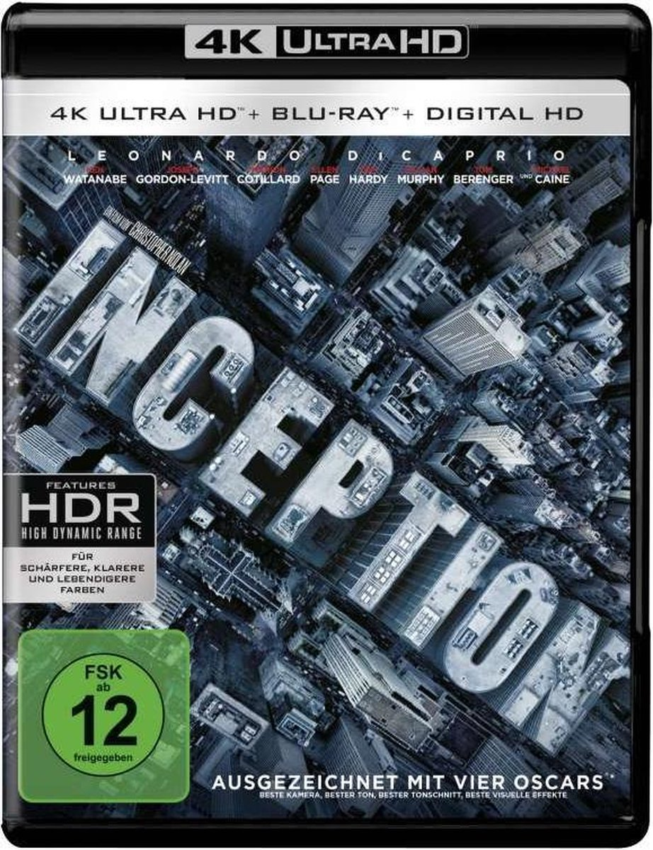Inception (Ultra HD Blu-ray & Blu-ray)-