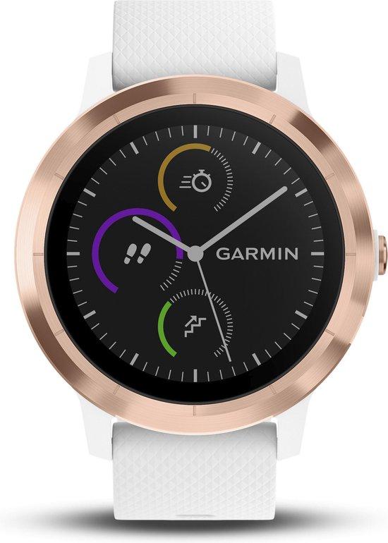 Garmin Vivoactive 3 - Smartwatch dames - 43 mm - Roségoud