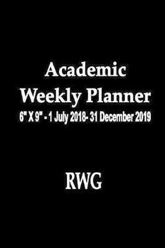 Academic Weekly Planner