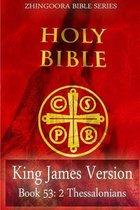 Boek cover Holy Bible, King James Version, Book 53 2 Thessalonians van Zhingoora Bible Series