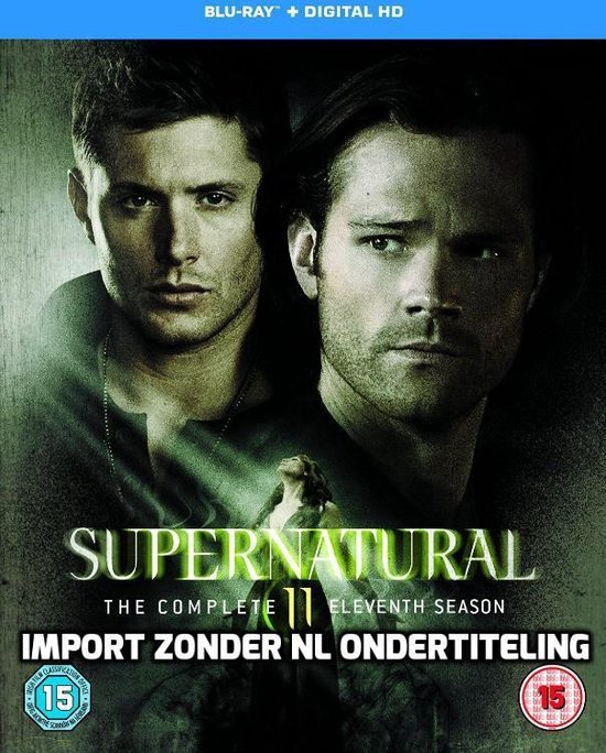 Supernatural - Season 11 (Blu-ray) (Import)