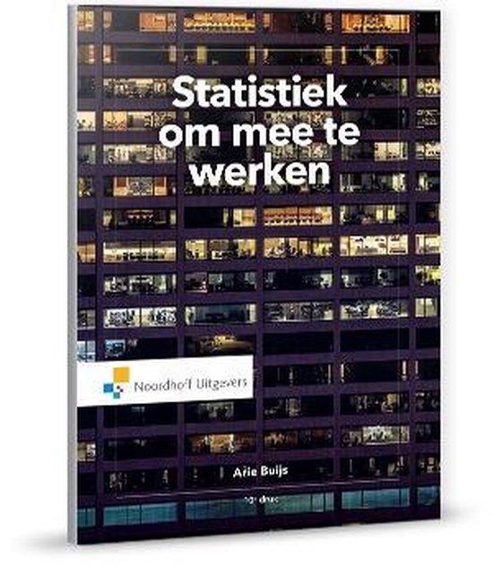 Statistiek om mee te werken - A. Buijs