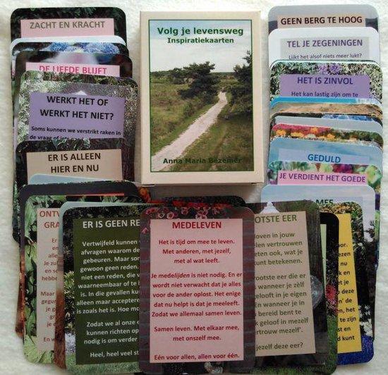 Volg je Levensweg Inspiratiekaarten - Anna Maria Bezemer | Readingchampions.org.uk