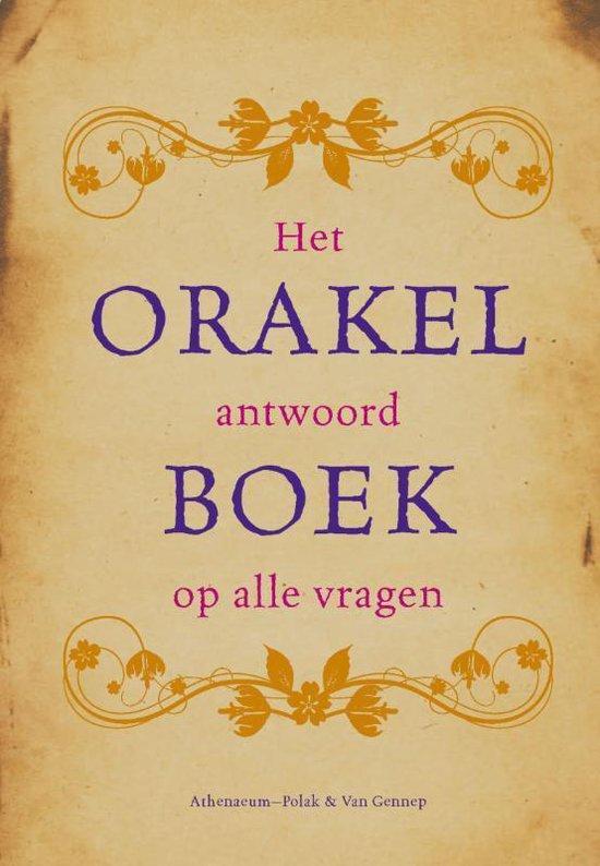 Cover van het boek 'Orakelboek'