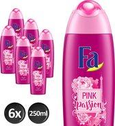 Fa Douchegel Pink Passion Douchegel - 6x250 ml - Voordeelverpakking