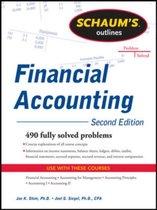 Boek cover Schaums Outline of Financial Accounting van Jae Shim