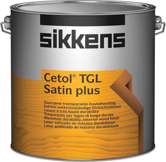 Bol Com Sikkens Cetol Tgl Satin Plus 2 5 Liter Mengkleur