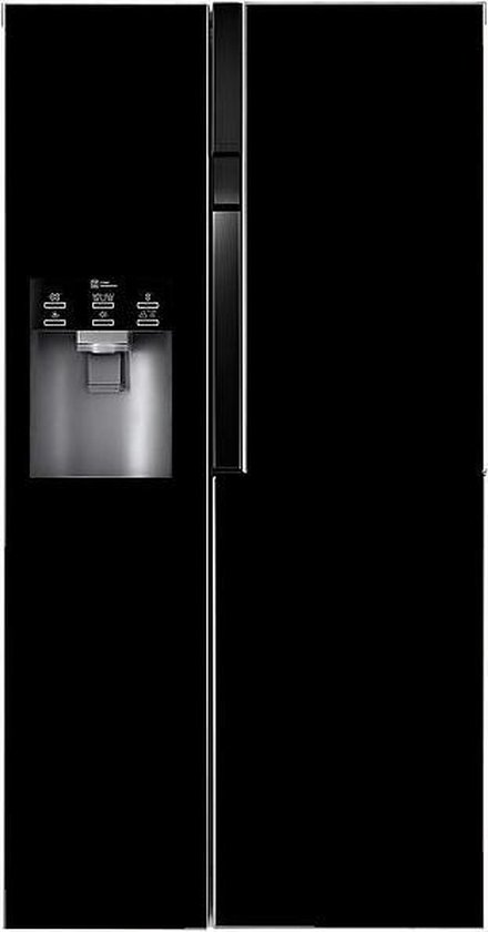 Koelkast: LG GSL360B zwart Amerikaanse koelkast, van het merk LG