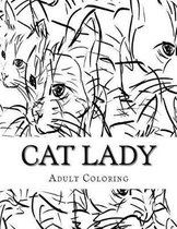 Cat Lady Coloring