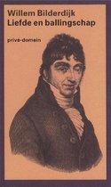 Boek cover Privé-domein 217 - Liefde en ballingschap van Willem Bilderdijk