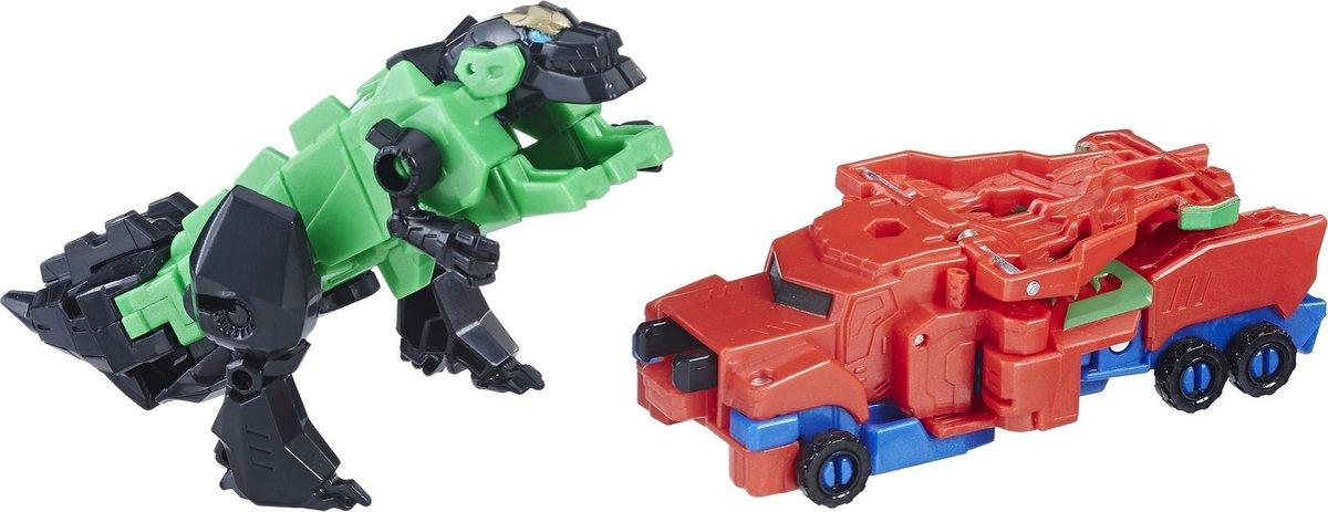 Transformers Robots in Disguise Crash Combiners Optimus Prime & Grimlock - Speelfiguren - Transformers