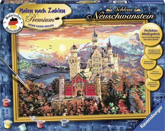 Ravensburger Schilderen op nummer Slot Neuschwanstein