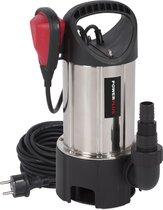 Powerplus POWEW67912 Dompelpomp - 400 W - 7500 l/h - inox behuizing - vuil en zuiver water