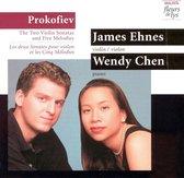 Prokofiev: Violin Sonatas, etc / James Ehnes, Wendy Chen