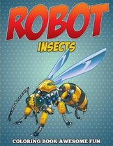 Robot Insects Coloring Book